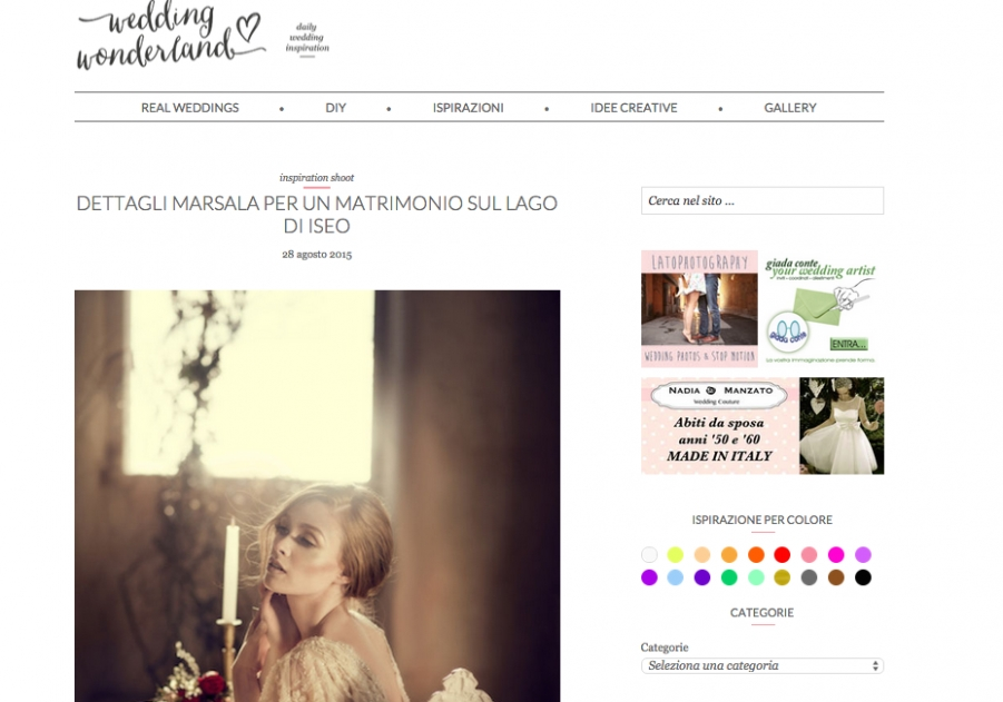la petite coco su wedding wonderland