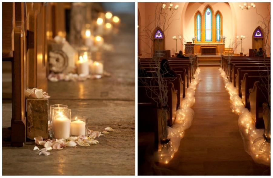 Matrimonio Rustico Chiesa : Idee per allestire la chiesa