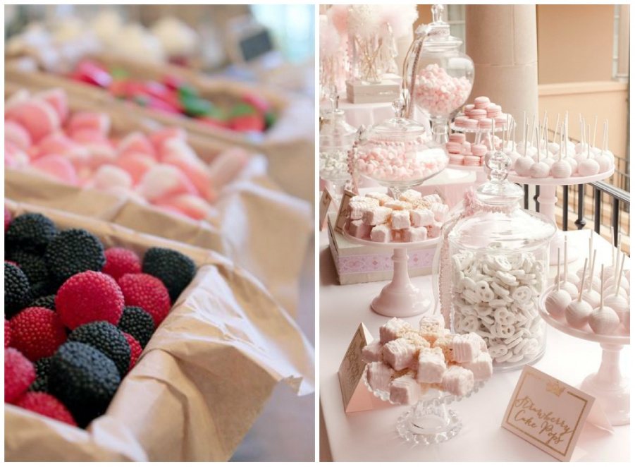 Populaire Idee per il tuo matrimonio: confettata e candy bar NY47