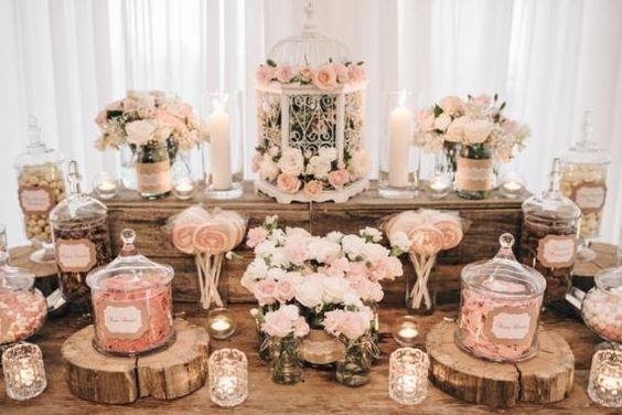 Wooden Candy Table ~ Idee per il tuo matrimonio confettata e candy bar