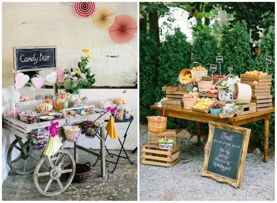 Idee per il tuo matrimonio confettata e candy bar - Bar idee ...