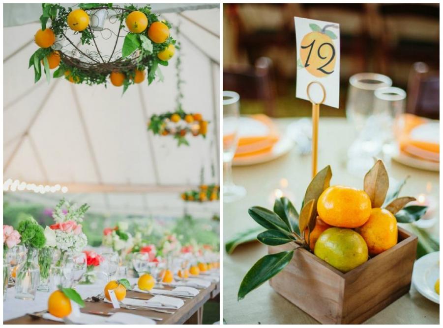 Matrimonio Tema Frutta : Idee per decorare il tuo matrimonio con la frutta