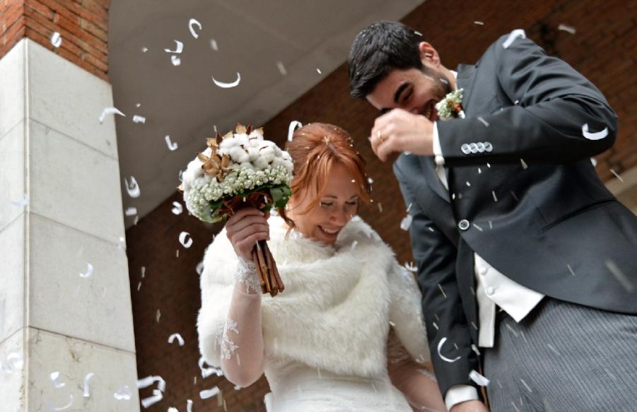 Matrimonio In Dicembre : Il matrimonio invernale di sara e mario