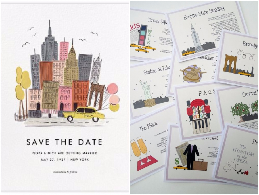 Matrimonio Tema New York : Un matrimonio a tema new york
