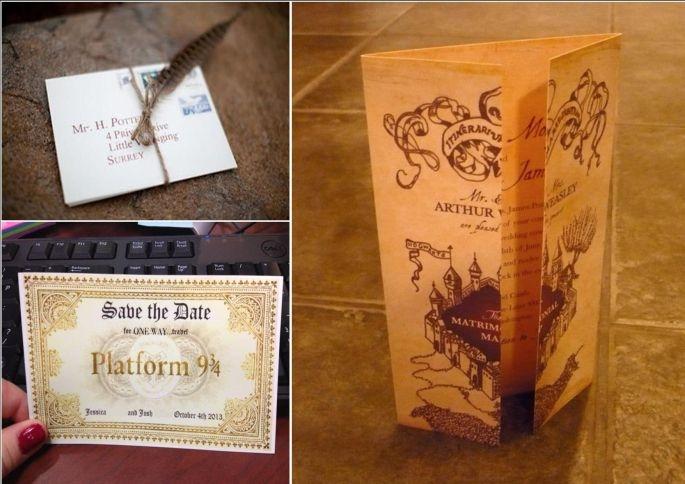 Bomboniere Matrimonio Tema Harry Potter : Matrimonio a tema harry potter