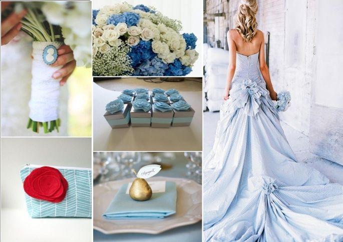 Matrimonio Con Azzurro : Matrimonio blu