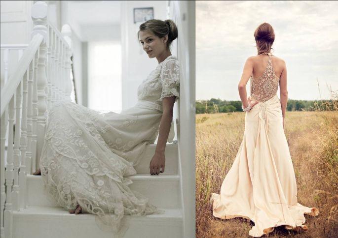 Molto Vintage in bianco: l'abito da sposa che viene dal passato SJ47