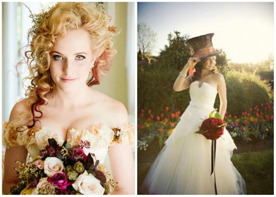 Alice nel paese delle meraviglie un matrimonio a tema - Valeria allo specchio ...