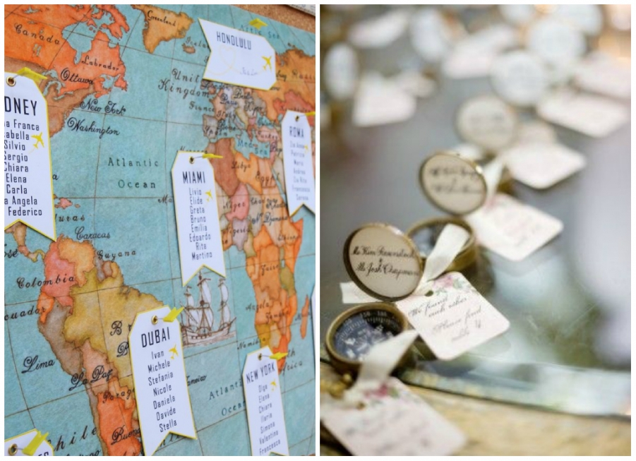 Eccezionale Tableau per il tuo matrimonio: tanti stili, tante idee LQ06