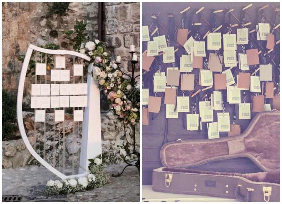 Favoloso Tableau per il tuo matrimonio: tanti stili, tante idee EZ35