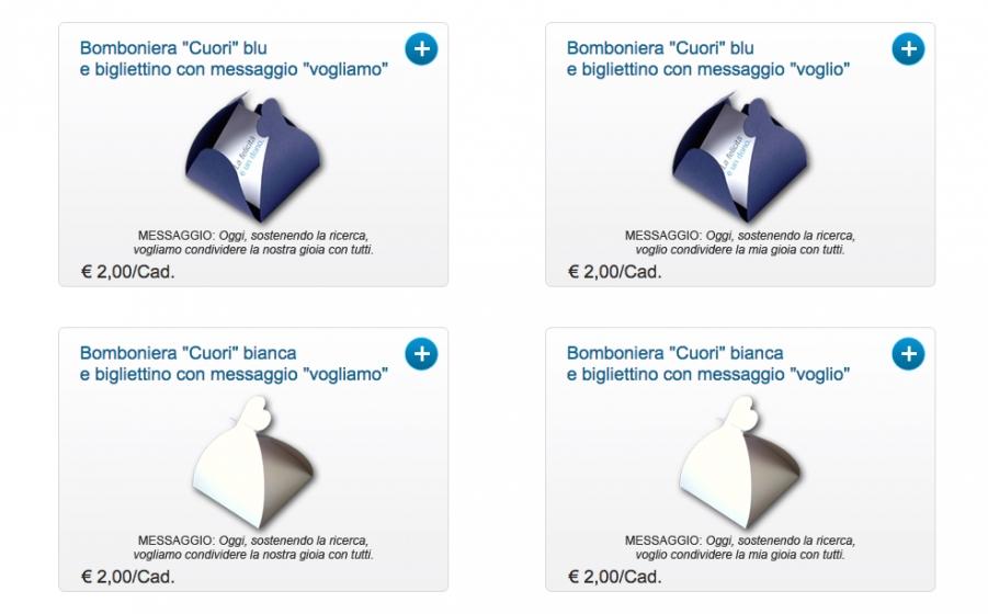 Bomboniere Airc Matrimonio.Bomboniere Solidali Di Airc
