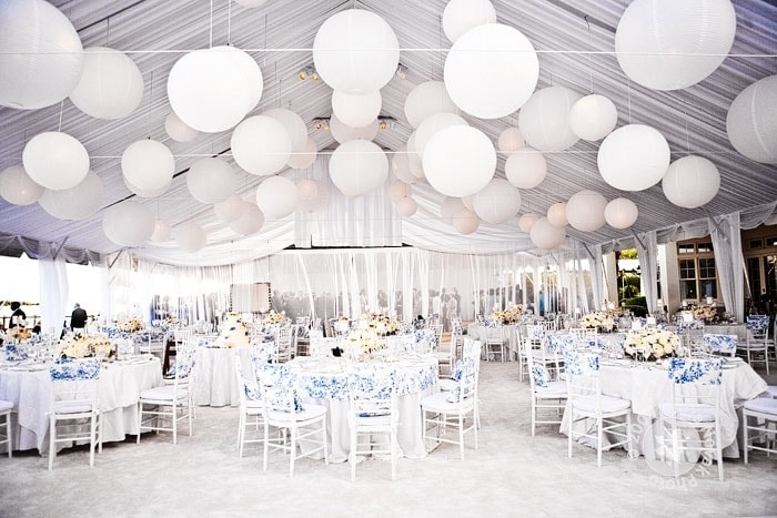 Idee decor: matrimonio total white
