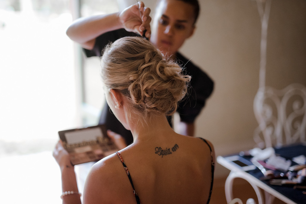 getting ready - bride - valeria ferrari weddings