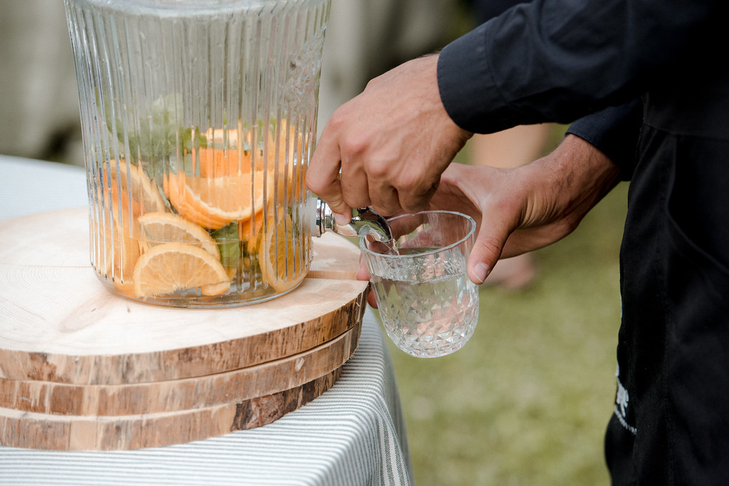 drink at wedding - valeria ferrari weddings