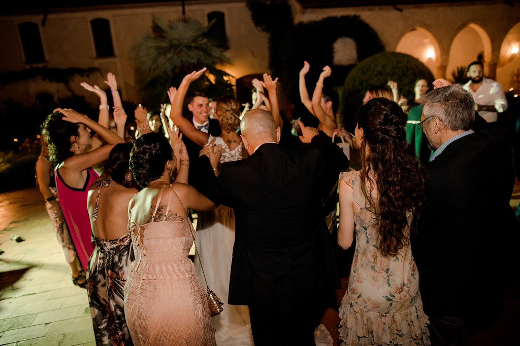 wedding party - destination wedding italy - valeria ferrari weddings
